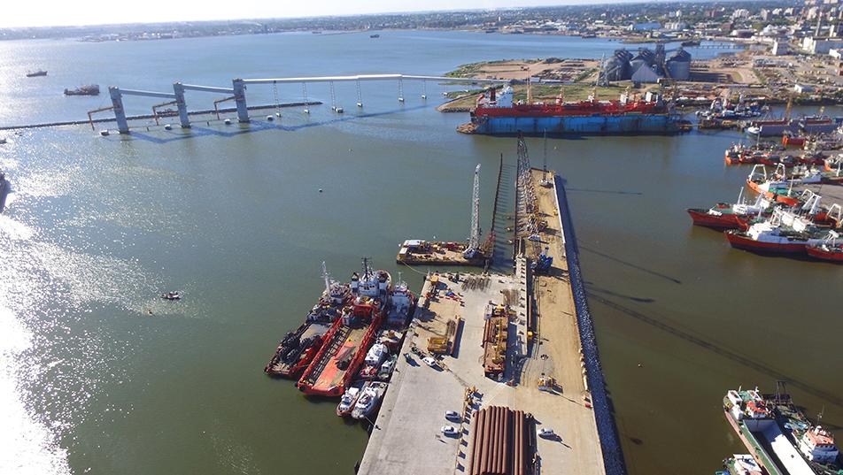 Muelle C, Puerto de Montevideo
